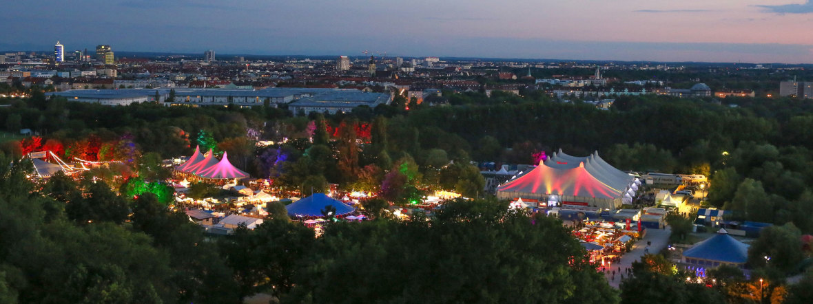 Tollwood Sommerfestival 2018 - Panorama, Foto: Bernd Wackerbauer