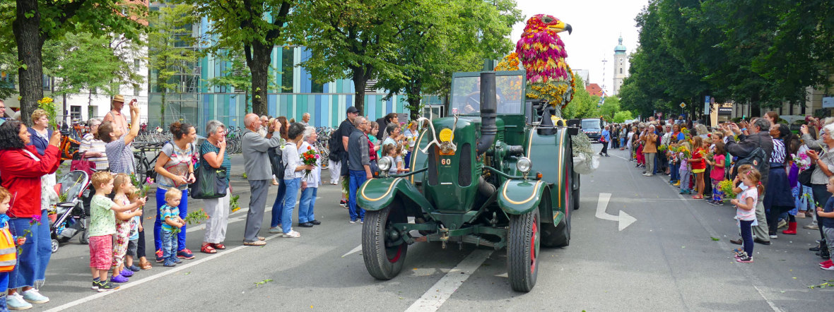 Gärtnerjahrtag rund um den Viktualienmarkt, Foto: muenchen.de/ Leonie Liebich