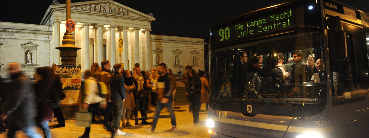 MVG Shuttlebus der Langen Nacht, Foto: Maren Köhler