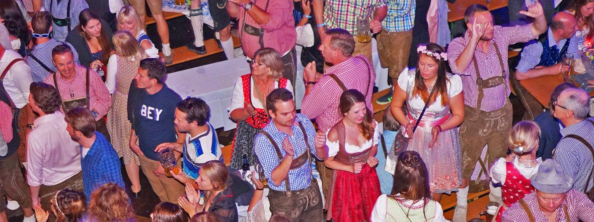 Wiesn-Party, Foto: muenchen.de/Dan Vauelle