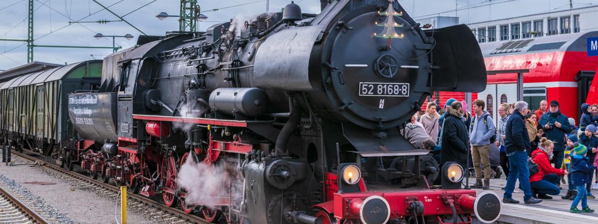 Historische Lok der Baureihe 52 aus dem Jahr 1943, Foto: muenchen.de/ Michael Hofmann