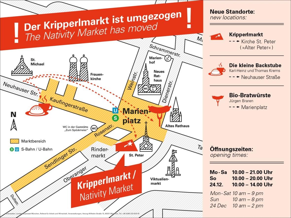 Umzug Kripperlmarkt - Christkindlmarkt 2019, Foto: Referat für Arbeit und Wirtschaft