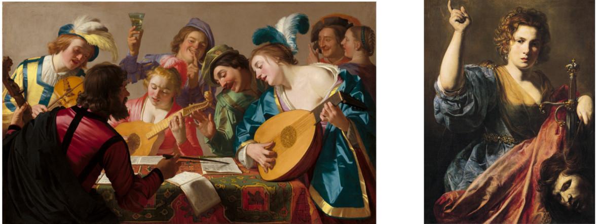 """Ausstellung """"Utrecht, Caravaggio und Europa"""" in der Alten Pinakothek, Foto: National Gallery of Art, Washington, Patrons' Permanent Fund and Florian Carr Fund & Musée des Augustins, Toulouse, Photo: Daniel Martin"""