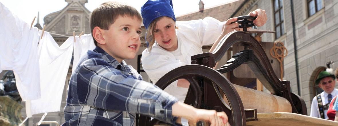 Kinderprogramm beim Stadtgründungsfest, Foto: Bernd Römmelt