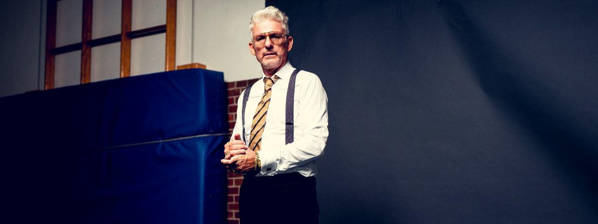 Entertainer Heinz Strunk, Foto: Dennis Dirksen