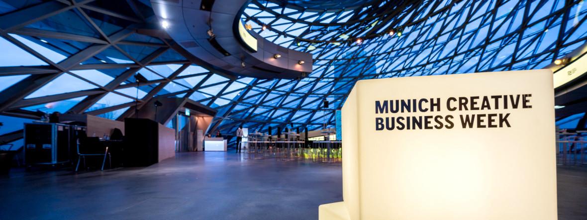 Munich Creative Business Week - MCBW, Foto: Munich Creative Business Week