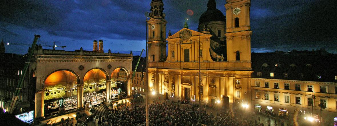 Klassik am Odeonsplatz , Foto: Michael Heeg