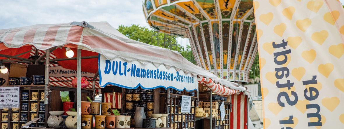 """""""Dult mal anders"""" beim Sommer in der Stadt auf dem Mariahilfplatz, Foto: muenchen.de/Anette Göttlicher"""