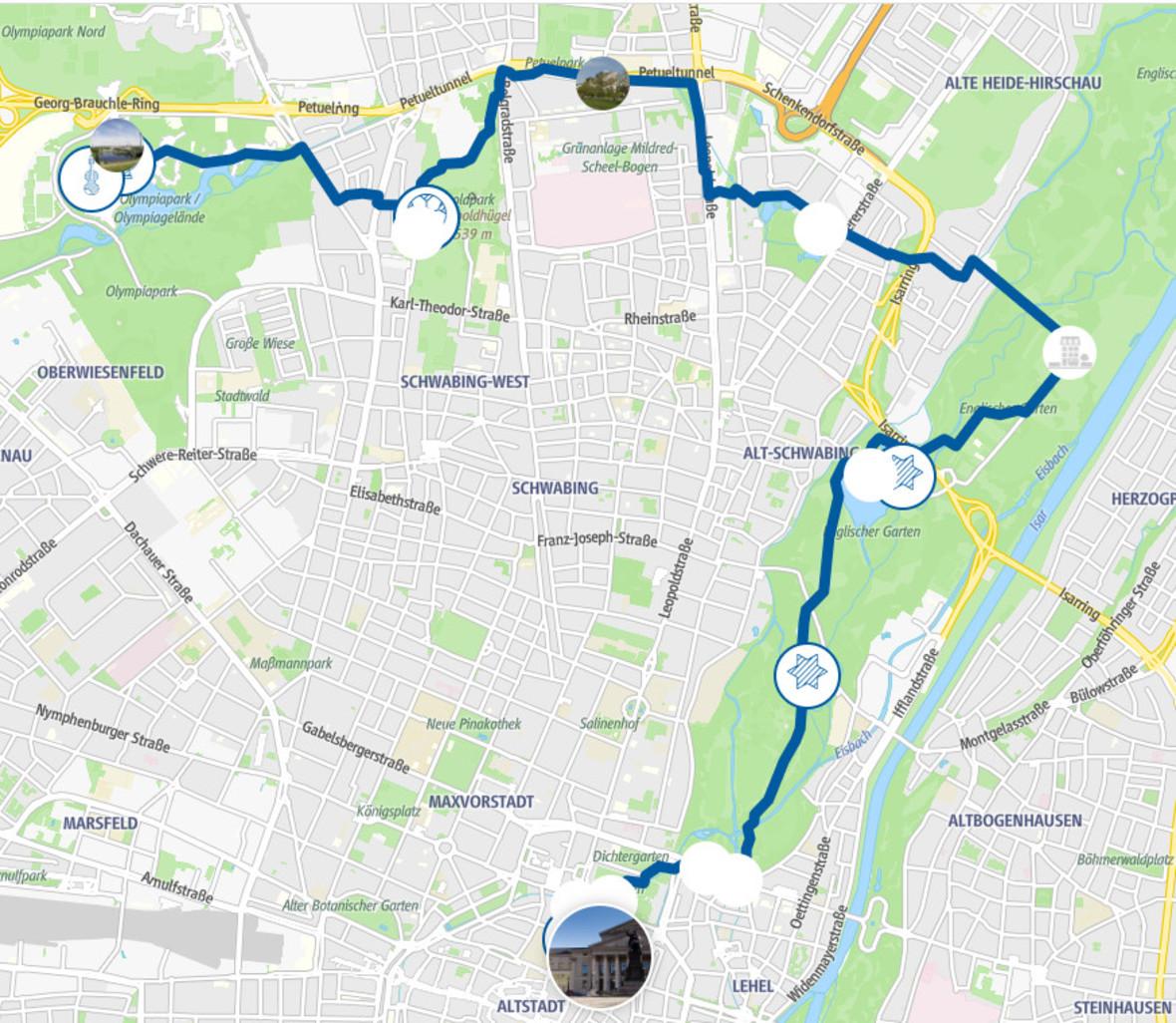 Radtour Olympiapark
