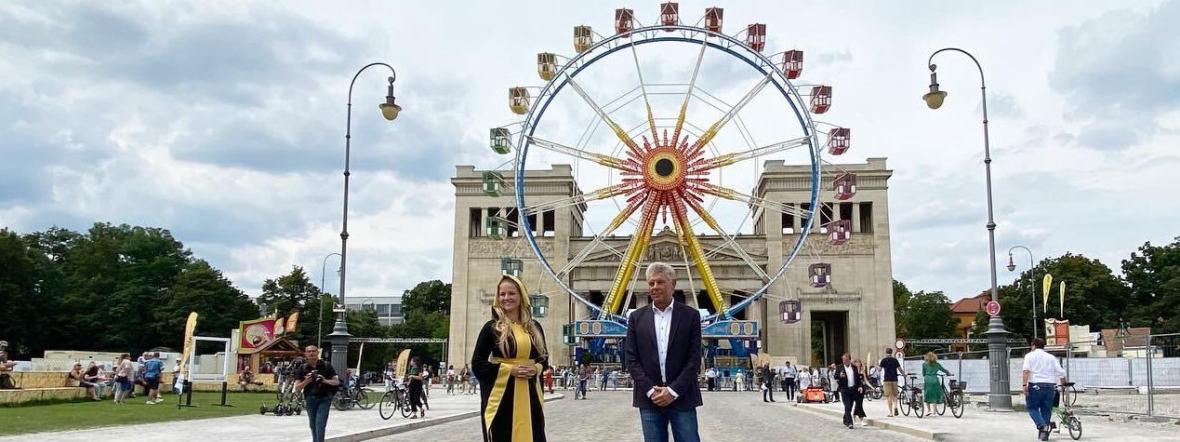 Impressionen von der Eröffnung des Sommers in der Stadt, Foto: Anette Göttlicher