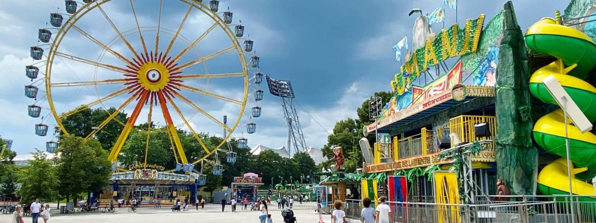 Riesenrad am Coubertinplatz, Foto: Anette Göttlicher