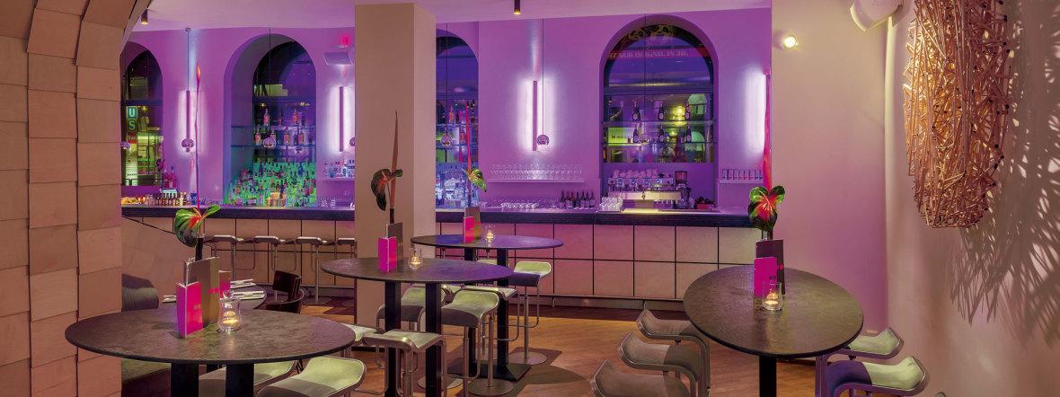 Die Bar im anna Hotel in München, Foto: Thomas Haberland