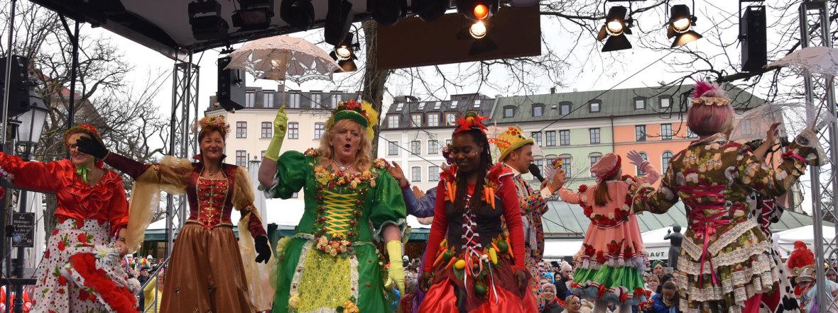 Tanz der Marktfrauen 2020, Foto: muenchen.de/Julia Langhof