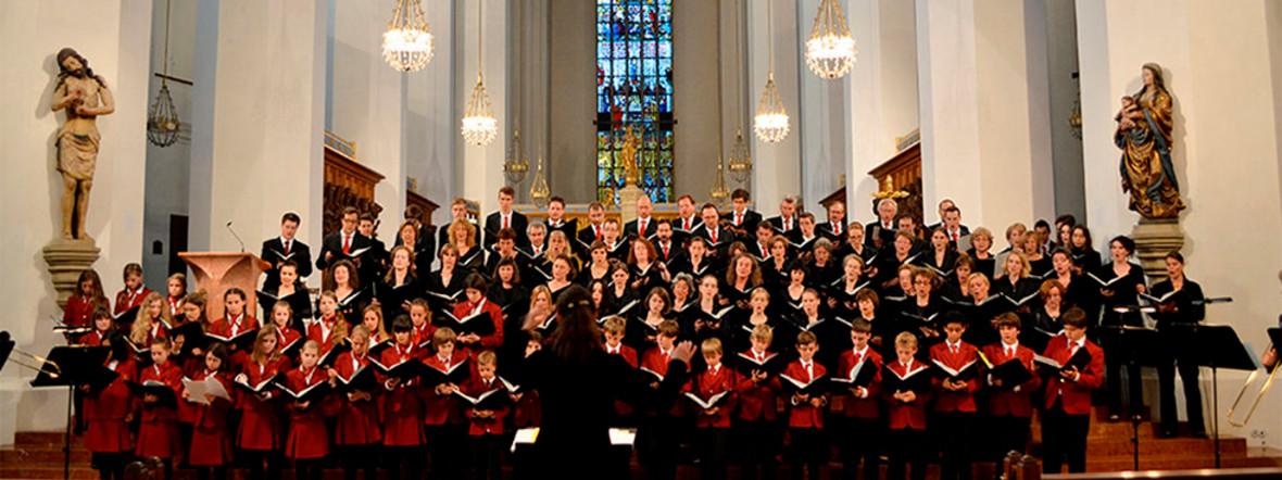 Der Domchor der Münchner Dommusik, Foto: Münchner Dommusik