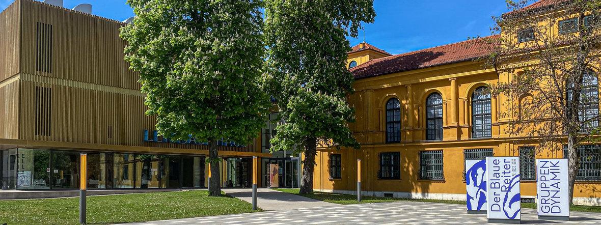 Lenbachhaus , Foto: muenchen.de/Michael Hofmann