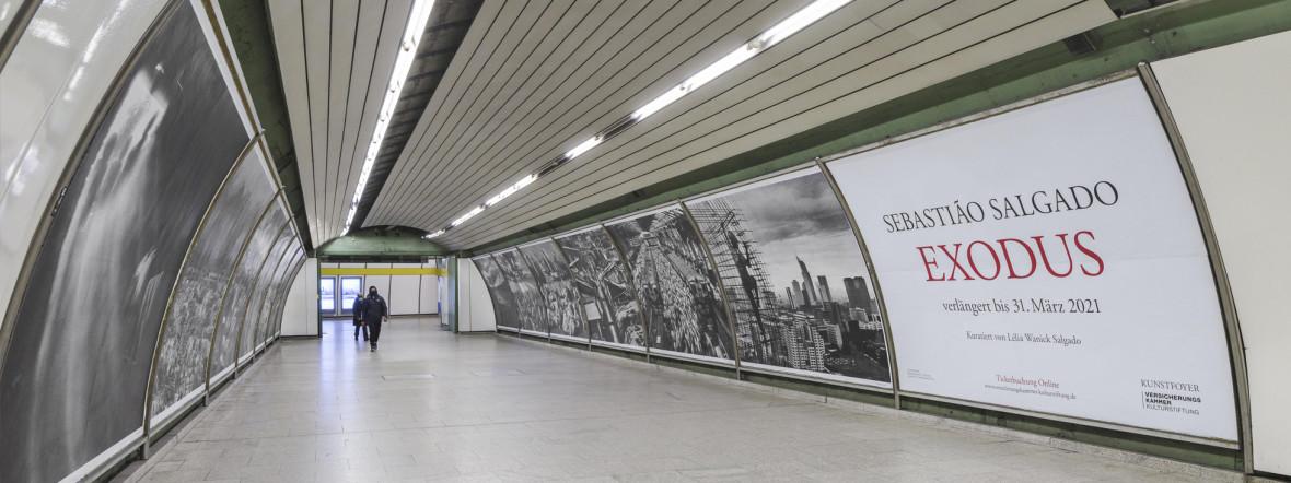Der Kunsttunnel unter dem Odeonsplatz in München., Foto: Florian Holzherr