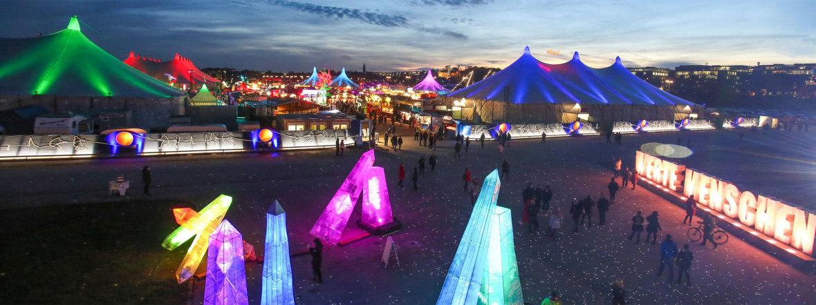 Tollwood-Winterfestival, Foto: Bernd Wackerbauer (Archivbild)