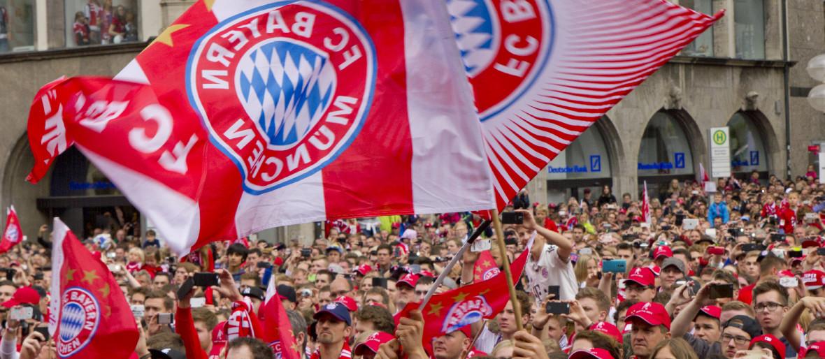 FC Bayern München Meisterfeier auf dem Marienplatz 2015, Foto: Katy Spichal