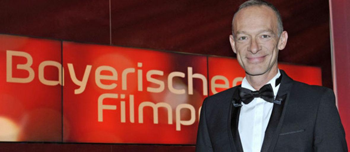 Christoph Süß beim Bayerischen Filmpreis., Foto: Bayerischer Rundfunk/Theresa Högner