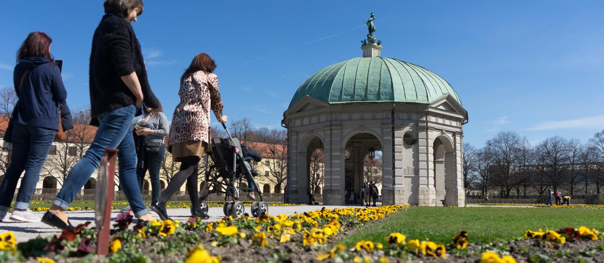 Dianatempel im Frühling, Foto: Lukas Fleischmann
