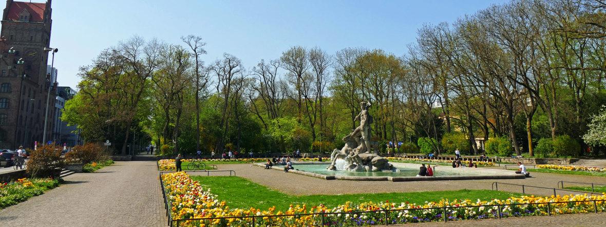 Alter Botanischer Garten, Foto: muenchen.de/Leonie Liebich