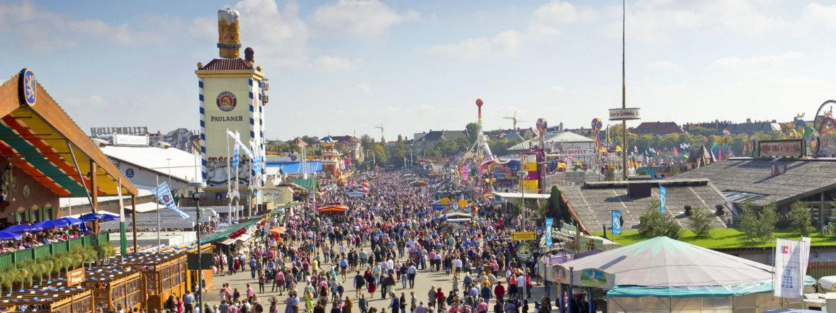 Oktoberfest 2014, Foto: muenchen.de/Katy Spichal