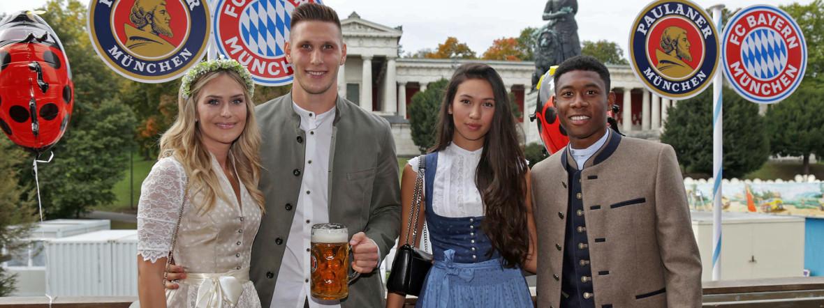 Auch in diesem Jahr feierte der FC Bayern München auf dem Oktoberfest., Foto: sampics / Christina Pahnke 2018