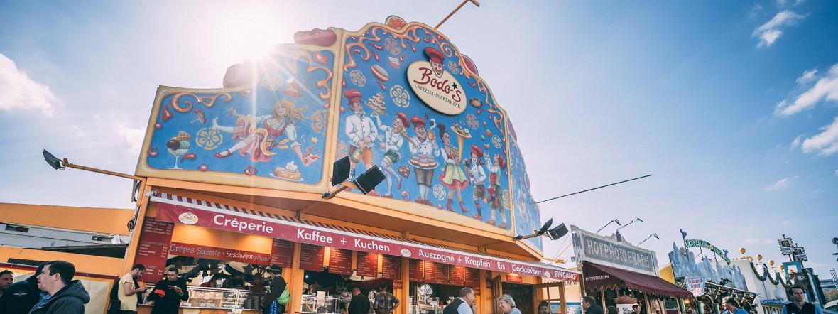 Bodo's Cafézelt, Foto: Sebastian Lehnert