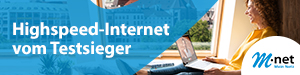 Highspeed-Internet von M-net