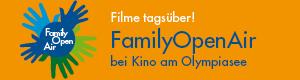 FamilyOpenAir. Filme tagsüber! Kino am Olympiasee.