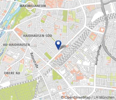 Postleitzahlen München Karte.Ostbahnhof Bahnhof München Ost Das Offizielle Stadtportal